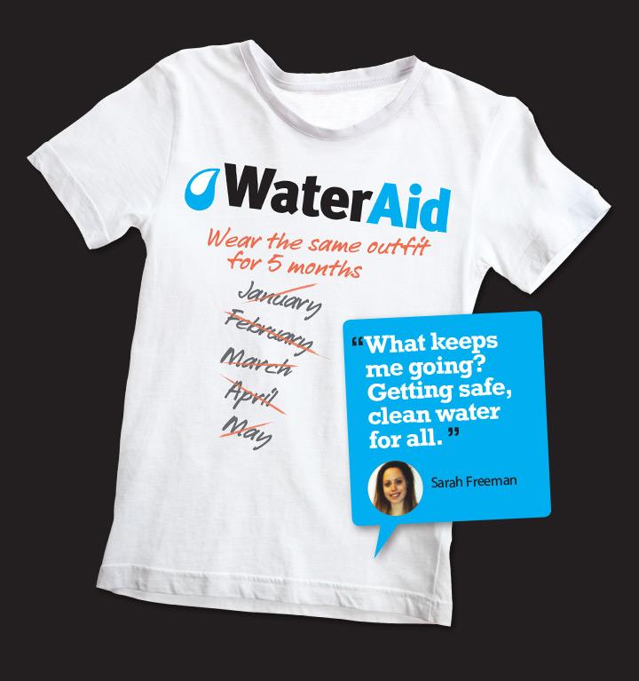 WaterAid – Inspiring people